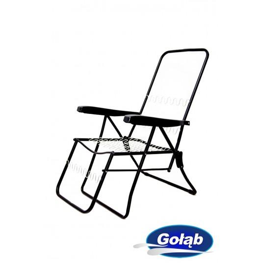 Leżak/Fotel sześciopozycyjny z podnóżkiem