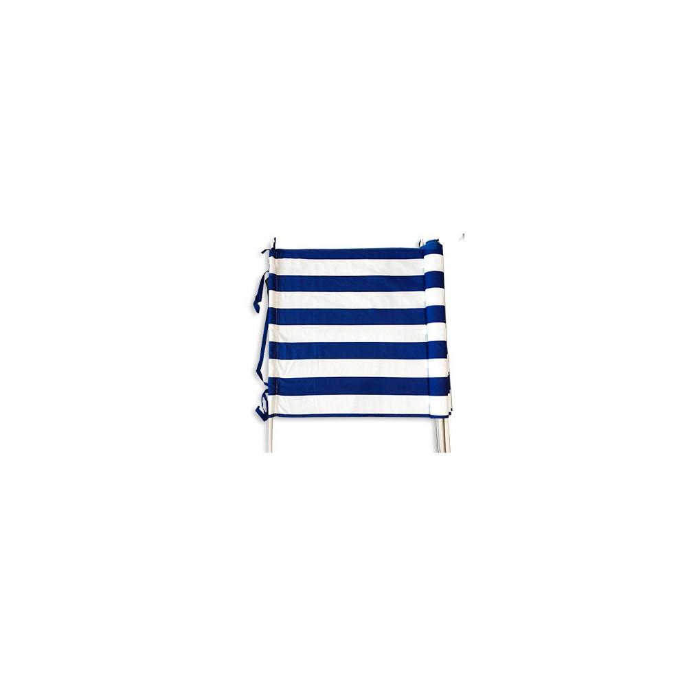 Parawan plażowy pasy biało-niebieskie 5m