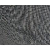 Leżak dwupozycyjny plecionka granatowo/szara