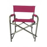 Krzesło reżyserskie amarantowe