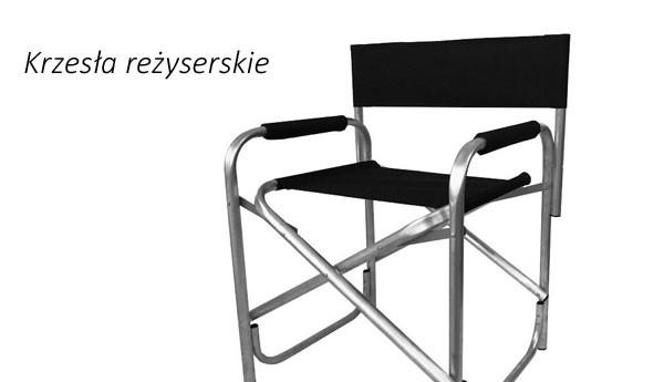 Krzesła reżyserskie